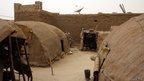Tuareg huts