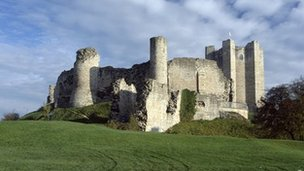 Conisbrough Castle. Picture: English Heritage