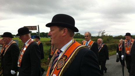 Orangemen in Rossnowlagh