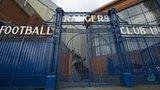 The gates of Rangers' Ibrox Stadium