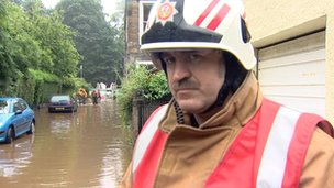 Group Commander Graham Inglis from Lothian and Borders Fire and Rescue