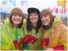 Friends at T in the Park