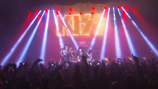 Kiss play London concert
