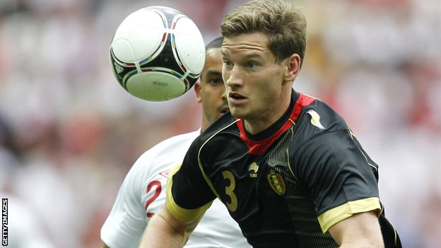 Ajax captain Jan Vertonghen