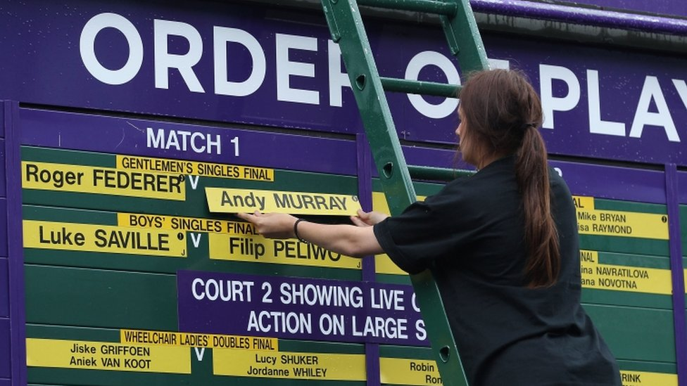 Order Play Wimbledon - image 5