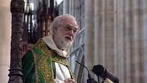 Archbishop of Canterbury, Dr Rowan Williams