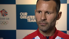 Great Britain Olympic football captain Ryan Giggs