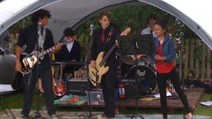 Nicholas Breakspear band