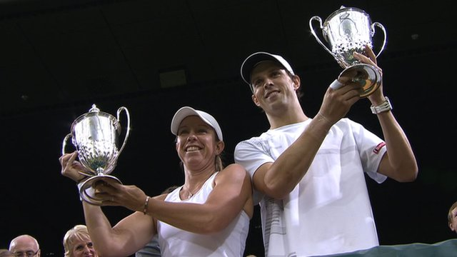 Lisa Raymond and Mike Bryan