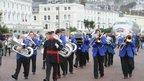 The Llandudno town band
