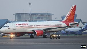 File photo of Air India plane parked at Indira Gandhi Airport in Delhi