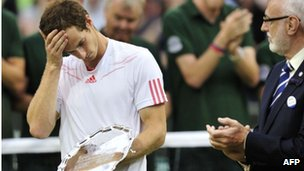 Andy Murray (left)