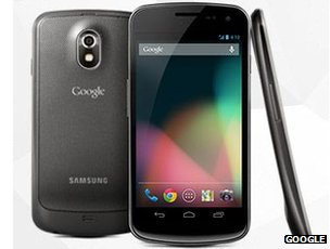 Galaxy Nexus phones