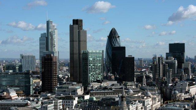 Skyline of the City of London