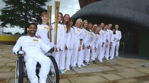 Torchbearers in Aylesbury
