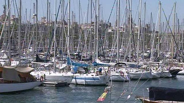 A marina