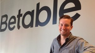 Betable chief executive Christopher Griffin