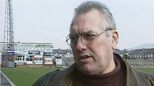 Brian Thomas, former Neath RFC player and manager
