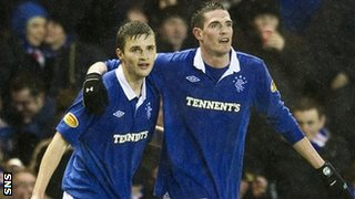 Jamie Ness and Kyle Lafferty