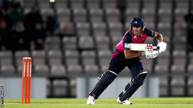 Hampshire against Middlesex in this year's Twenty20 competition