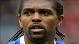 Kanu (left) and Mokoena have not returned to training at Portsmouth