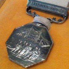 Capt Oates's Antarctic medal