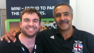 Paul Kiernan and Daley Thompson