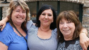 Kathleen Orme, Jane Nolasco and Pat Oliver