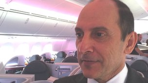 Akbar Al Baker, chief executive of Qatar Airways