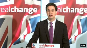 Ed Miliband wants big banks to be broken up