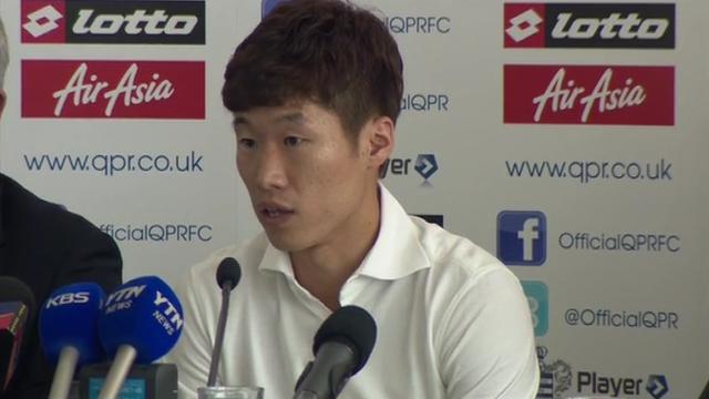 QPR new signing Park Ji-sung