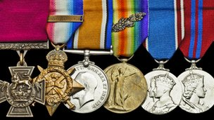 The Victoria Cross group of six medals 
