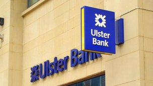 Ulster Bank sign