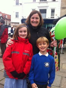 Georgina,Tom and Nicki in Wallingford