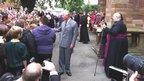 Prince Charles at St Asaph