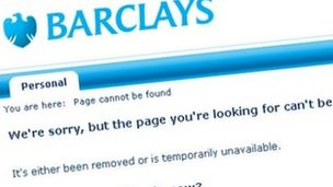 Barclays screengrab