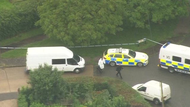 Police at scene in Clacton-on-Sea