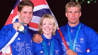 Ben Ainslie, Shirley Robertson and Iain Percy