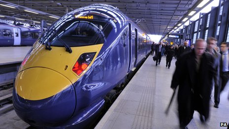 Javelin train at St Pancras