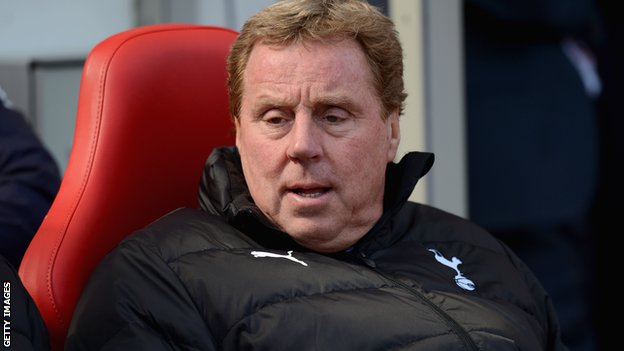 Former Tottenham manager Harry Redknapp