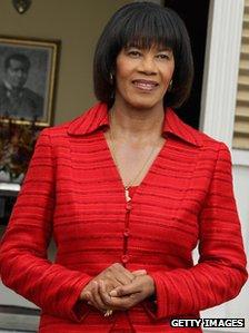 Prime Minister of Jamaica Portia Simpson-Miller