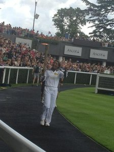 Denise Lewis, pic courtesy of Amy Sherman