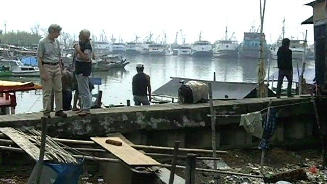 Jakarta's slums