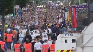 Last year's parade