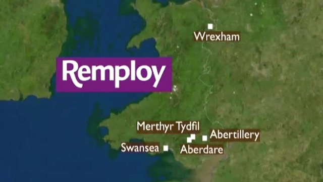 Affected Welsh Remploy factories
