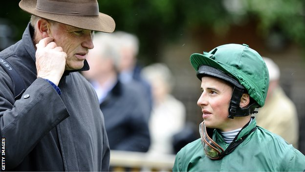 John Gosden with William Buick