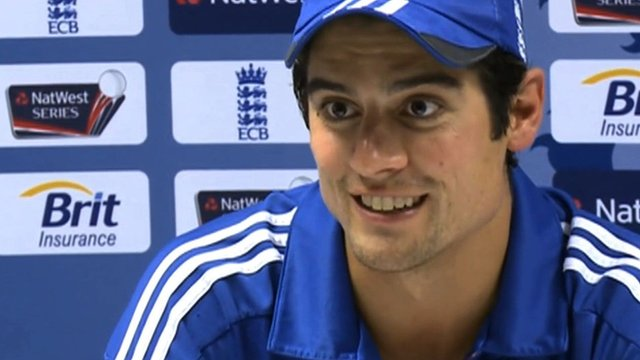 England One Day International captain Alastair Cook