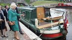 Camilla, Duchess of Cornwall on Monmouthshire and Brecon Canal