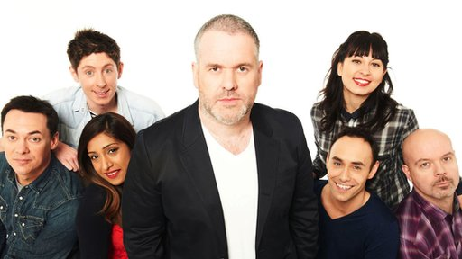 Chris Moyles Show team