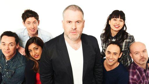 Chris Moyles Show team